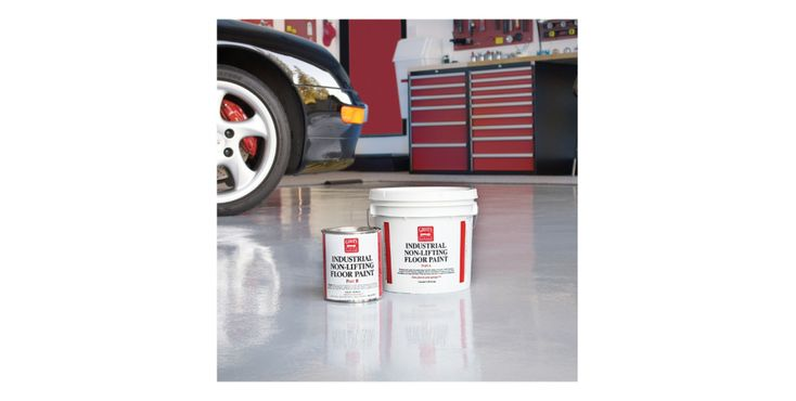 25 Organization Hacks for Your Garage Workshop – Gray Floor Paint 1 Gallon
