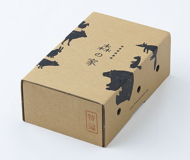 MIKI MEMO | nae-design:   Another pretty rice box design by...