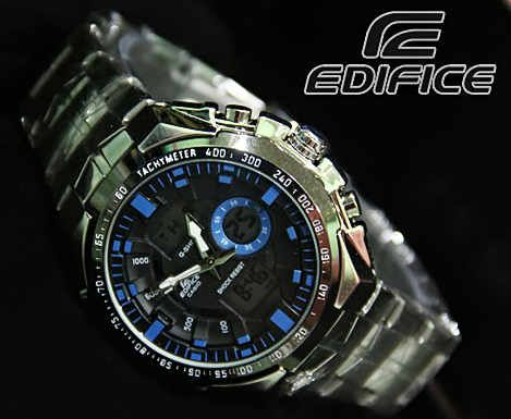 CASIO EDIFICE EFA 150  (Code:4OS130;(@225.000).  Jam Tangan Pria KW Super. Kombinasi Analog Digital. Black Blue Dial Water. Resistan Stainless Steel Band. Menunjukkan integritas karakter AGAN sebagai pria yang elegan, fashionable, dan berkelas. SMS: 08531 784 7777  PIN: 331E1C6F  www.butikfashionmurah.com