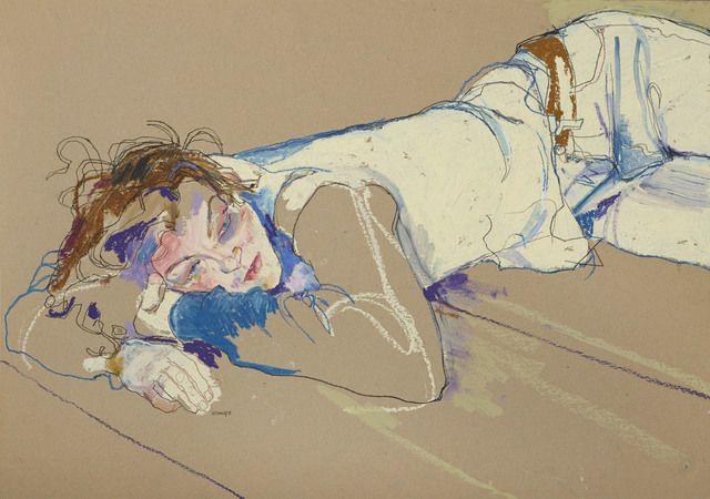 Howard Tangye - Arthur lying on floor - 2005 - HUS Gallery