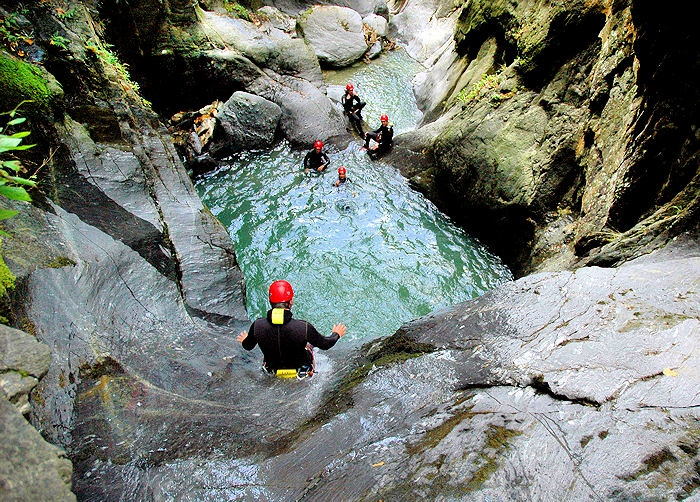 CANYONING TOUREN Tirol, #Ötztal. Canyoning in Tirol's Schluchten , photo copyright by wasser-c-raft