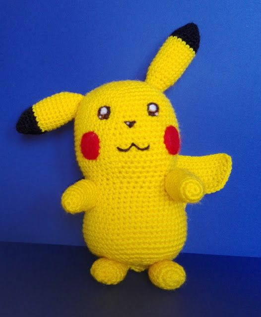 A mi Amigurumi!: Pika, pika! Pikachu, szydełko, crochet, amigurumi, geek, DIY