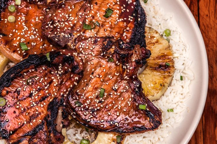 Grilled Teriyaki Pork Chops Recipe