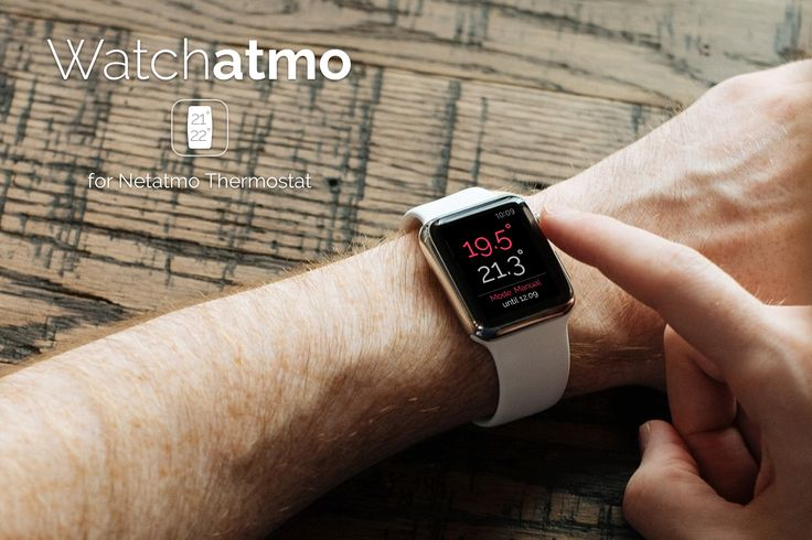 Watchatmo pour Apple Watch