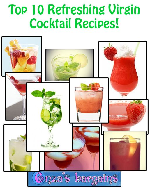 Top 10 Refreshing Virgin Cocktail Recipes