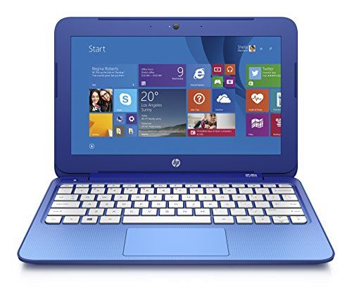 HP Stream 11 Laptop with Free Office 365 Personal for One Year (Horizon Blue) - Gift for 15 year old boys