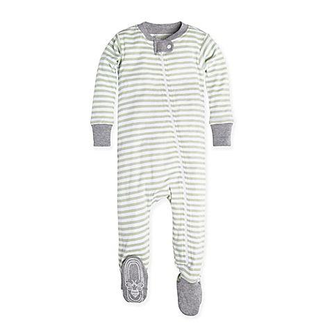 a4a71a2c951b Burt s Bees Baby® Size 12M Mini Stripe Pajama in Green