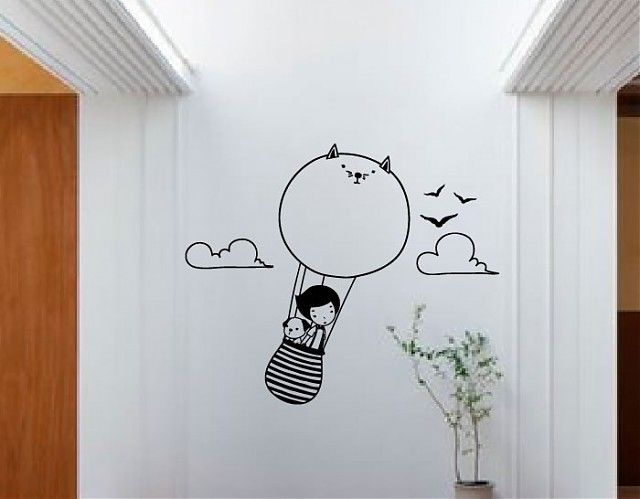 17 mejores ideas sobre murales adolescentes en pinterest for Stickers habitacion nina