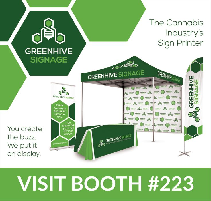 Greenhive Signage Inc. is set to put the cannabis industry on display at the Marijuana Business Conference and Expo in Las Vegas, NV.: LAS…