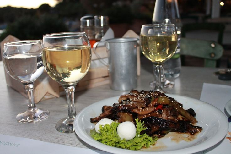 Dinner in Marathi,Crete