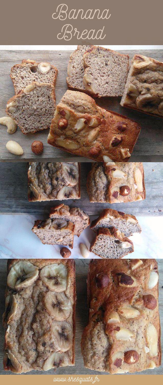Recette healthy de banan bread ultra simple à réaliser