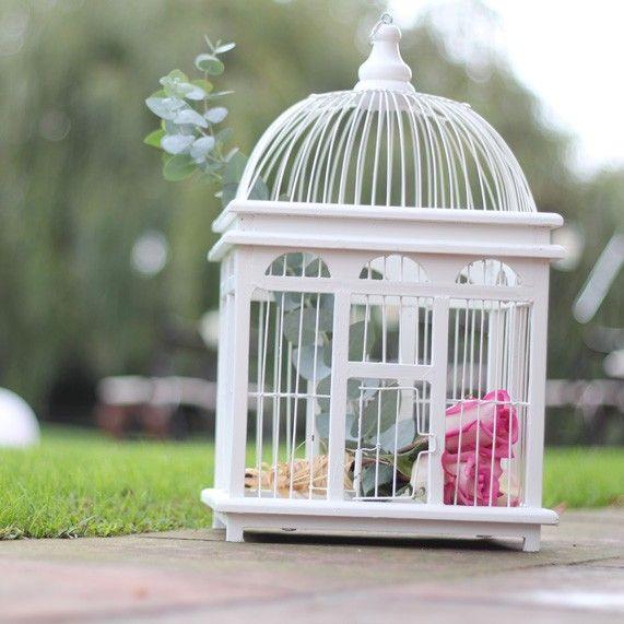 Jaula de madera y metal para tu boda desde 17,50€ en UBOshop http://www.unabodaoriginal.es/es/jaula-de-madera-y-metal-mediana.html