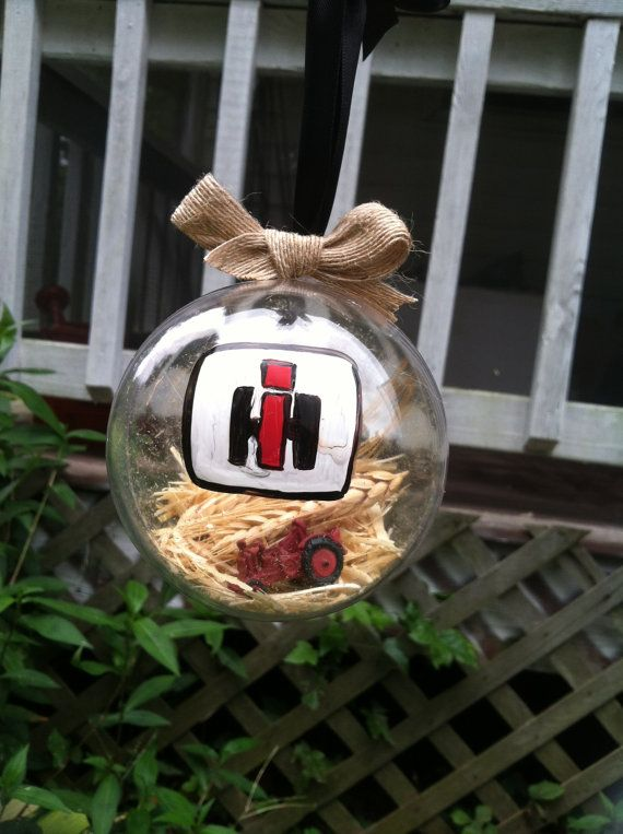 International Harvester Ornament! Visit our etsy shop and get yours today!!!                                                                                                                                                                                 Plus