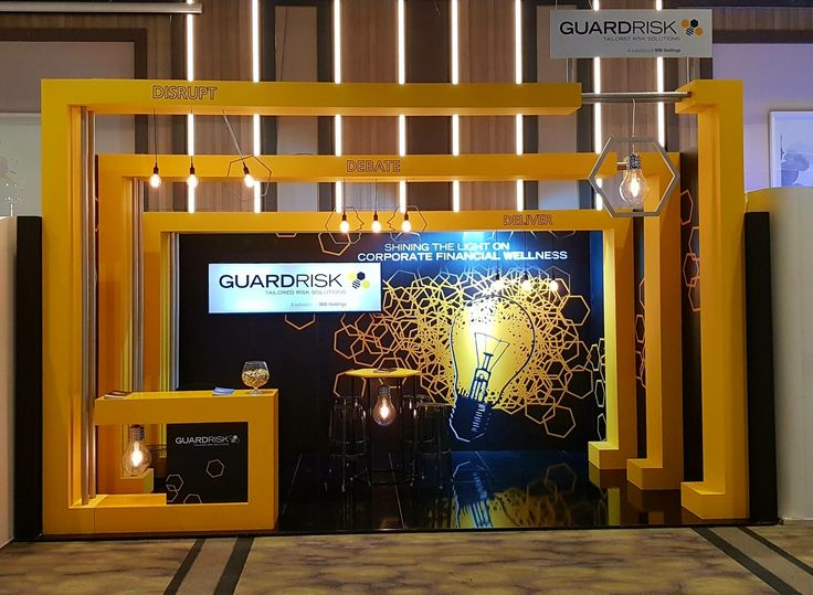 Stand by Design+Display for isurance company Guardrisk at a conferrence in Sun City Resort in South Africa