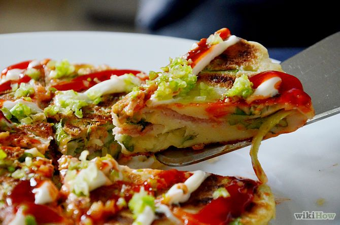 How to Make Okonomiyaki (with Pictures) - wikiHow