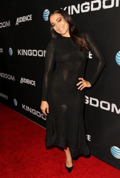 Natalie Martinez celebrates the season premiere of DIRECTV's KINGDOM