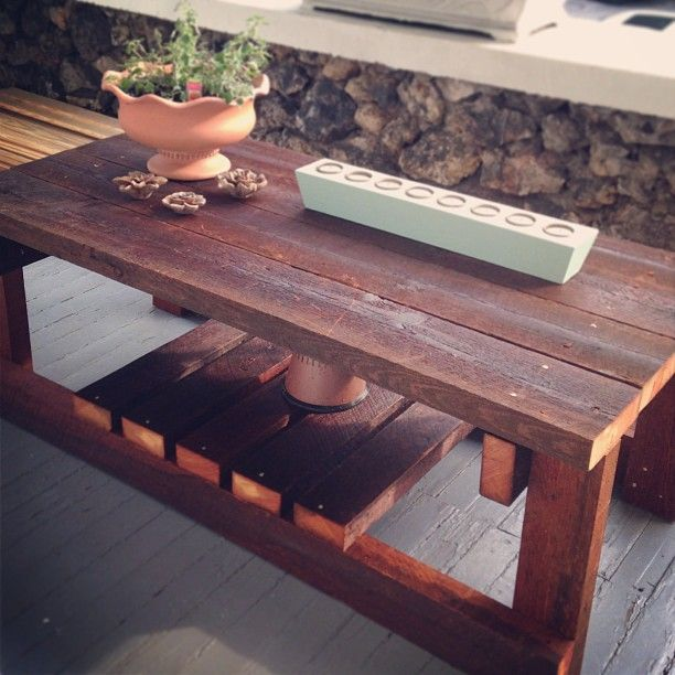 14 Best Reclaimed Wood Coffee Tables! Images On Pinterest