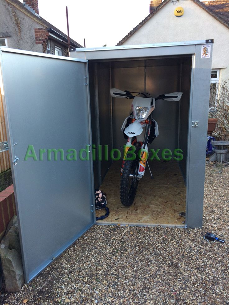Motorcycle Storage Shed 5ft 6 Tall Motorbike Storage