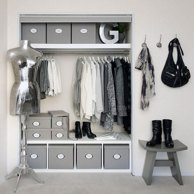 tuuliさんの、IKEA,見せる収納,白黒収納,収納,モノトーン,白黒,モノトーン収納,白黒マニア,白黒インテリア,MONOTONE,白黒グレー,シンプルライフ,シンプルモダン,衣類収納,ベッド周り,のお部屋写真