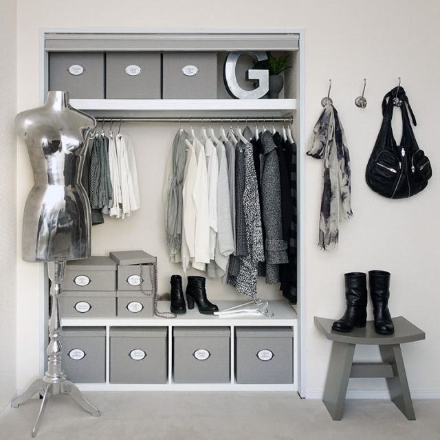 IKEA/見せる収納/白黒収納/収納/モノトーン/白黒…などのインテリア実例 - 2015-10-10 17:16:37 | RoomClip(ルームクリップ)
