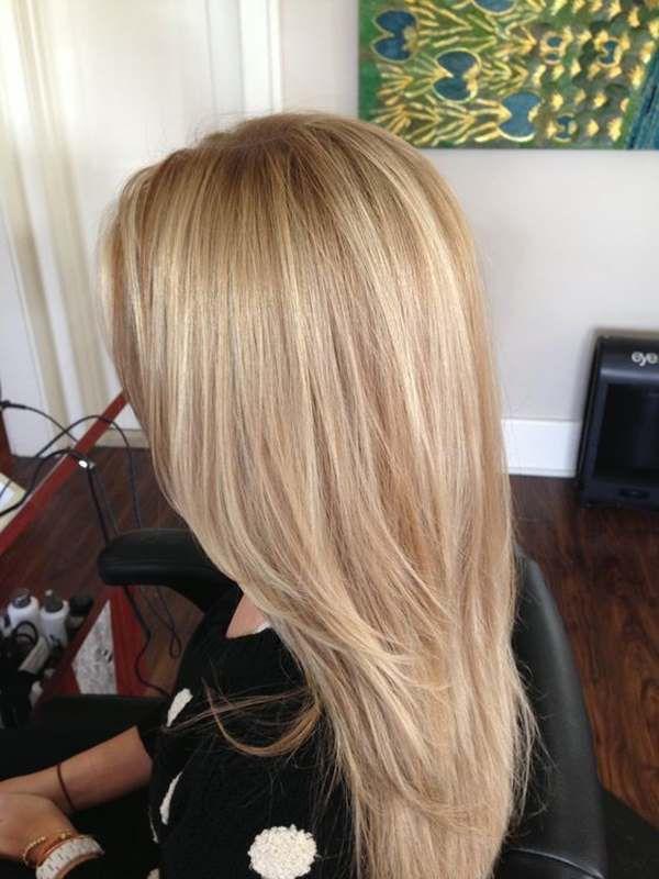 sarı bej saç