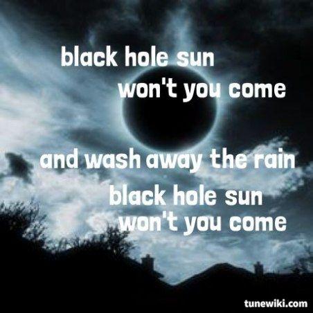 black hole sun lyrics - 452×452