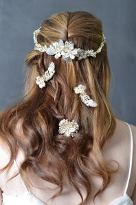 Elena Designs - Headpieces  E952  E952PINS