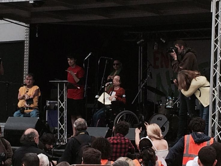 #EndAusterityNow That was the rather wonderful Liz Carr:
