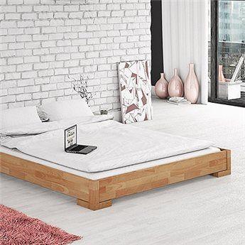 Low bed frame Vento.En lav seng med rene linjer!