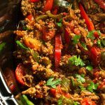 Jump to RecipeThis easy Slow Cooker Turkey Fajita recipe is a quick and delicious Tex-Mex fajita dish that makes it easy to use up some ground turkey year round! I know what you are thinking this is not a typical fajita recipe.I know- I know! Slices of meat and peppers- I totally get it. But see …
