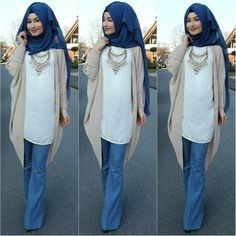 ♥ Muslimah fashion & hijab style-Hijab Fashion