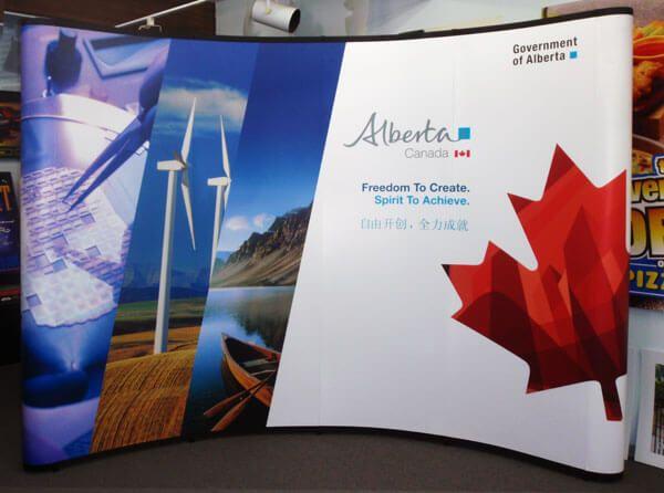Arttec Advertising - Trade Show Display Edmonton!  #Advertising #Largeformatprinting #Tradeshowdisplay #Grandformatprinting