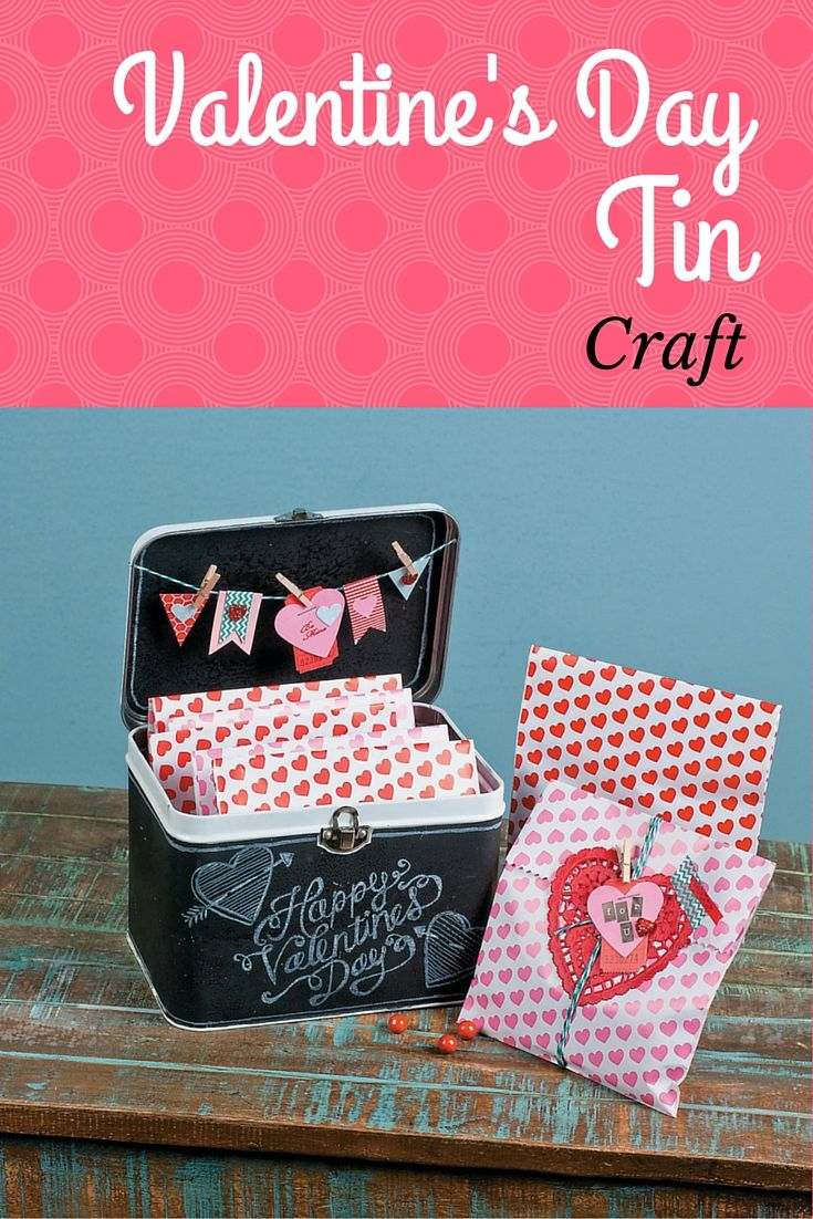 Valentine Party Favors And Cards Are Right At Home In This