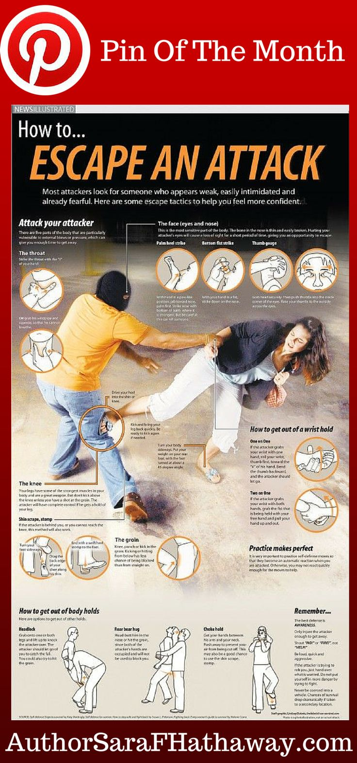Women's self-defense. Ensure you can protect yourself in a long term #survival situation. #preppertalk #prepper