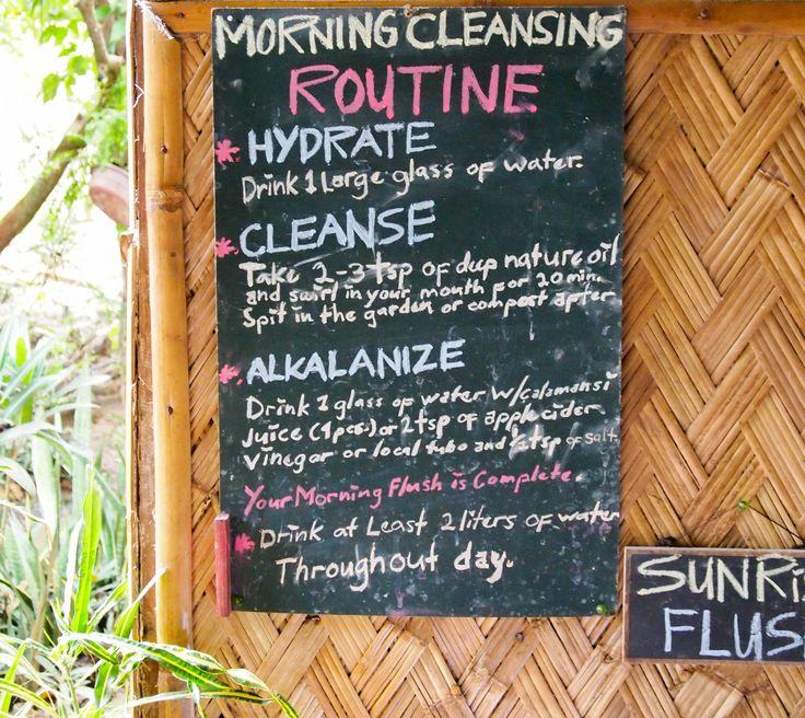 Palawan, retiro de yoga e detox no bahay kalipay