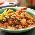 Foto de la receta: Sopa criolla de pollo y camarones