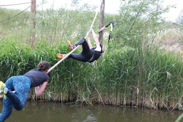 Obstacle training course van Netl de Wildste Tuin. http://www.netl.nl/obstacle-training-course/