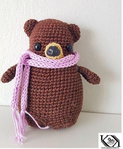 Netypický roztomilý medvídek – NÁVODY NA HÁČKOVÁNÍ  4a1074d00c