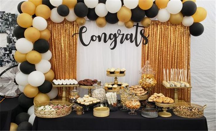 55 Creative Graduation Party Decoration Ideas You Will Like - Page 39 of 55
