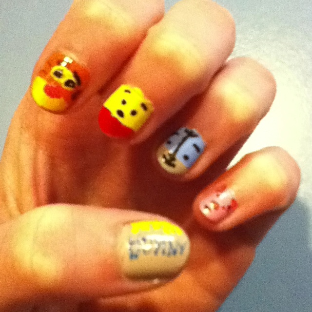 29 Best Nails Images On Pinterest Pooh Bear Winnie The Pooh Ears