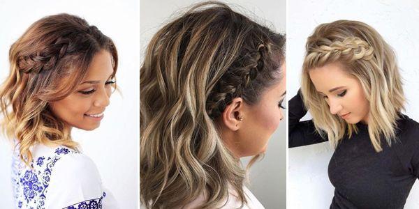 Fryzury Z Warkoczem Krótkie Włosy ślub Szukaj W Google