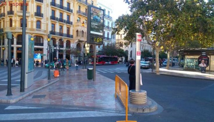 El tiempo en Valencia: llega el frío y las temperaturas no superarán los veinte grados este lunes