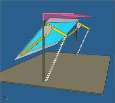 Znalezione obrazy dla zapytania porton levadizo mecanismo