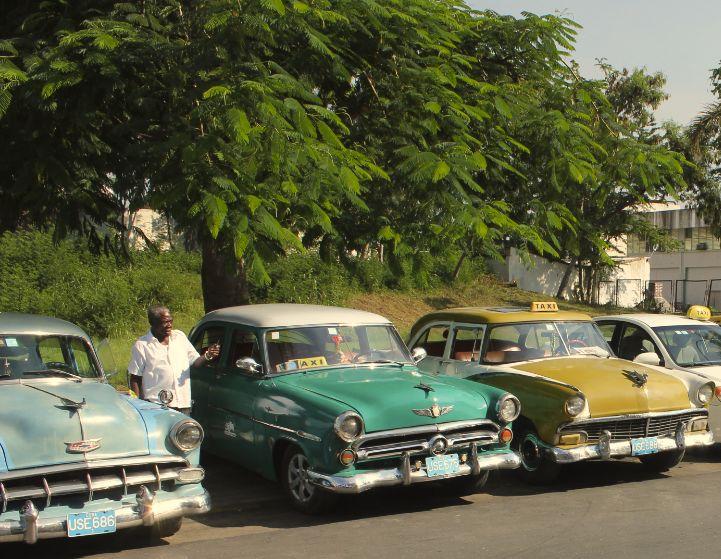 Oldtimers op Cuba.
