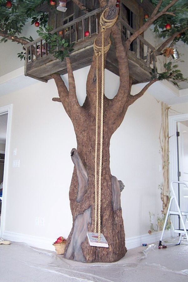 it would be a dream to do a kids play room with a tree like this in it but like i said i am dreamin
