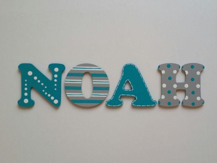 Ber ideen zu holzbuchstaben kinderzimmer auf pinterest holzbuchstaben namen und - Namen buchstaben kinderzimmer ...