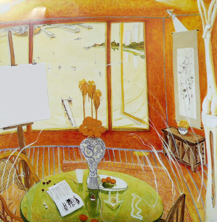Brett Whiteley - love his work it is very reminiscent of another favourite artist - Matisse