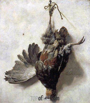 "Jan Baptist Weenix (1621 -1660) ""Мёртвая куропатка"""