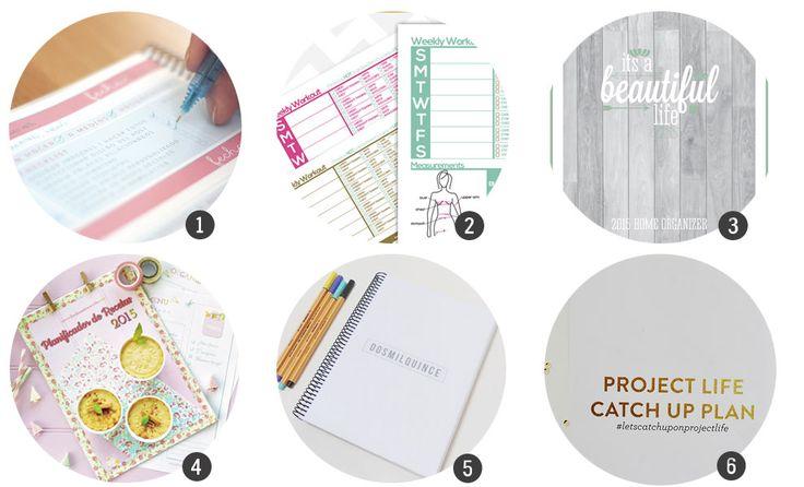 Organiza tu 2015: Agendas y planificadores para imprimir | Cosas Molonas | Blog de Inspiración & DIY |