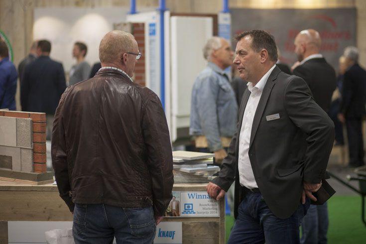 Gert Swinkels en Eric Oeben bespreken de buitenkansen.